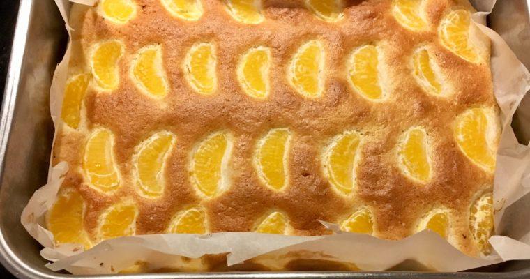 Mandarinenkuchen mit Joghurt – leckeres Eiweißkuchen Rezept