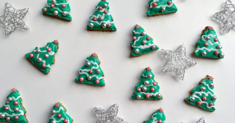 Weihnachtsplätzchen Rezept – Tannenbaum-Kekse