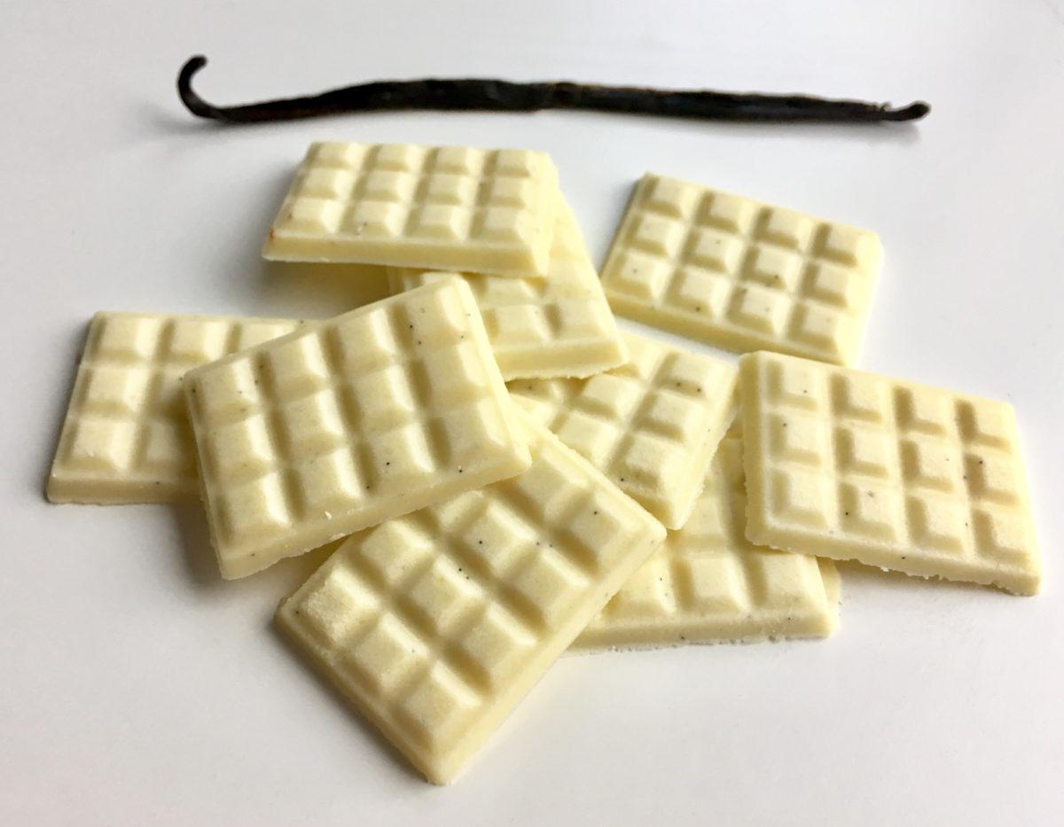 Rezept für weiße Schokolade