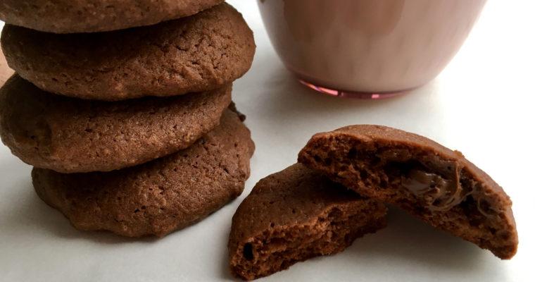 Gefüllte Schokolade Cookies – ein kinderleichtes Rezept