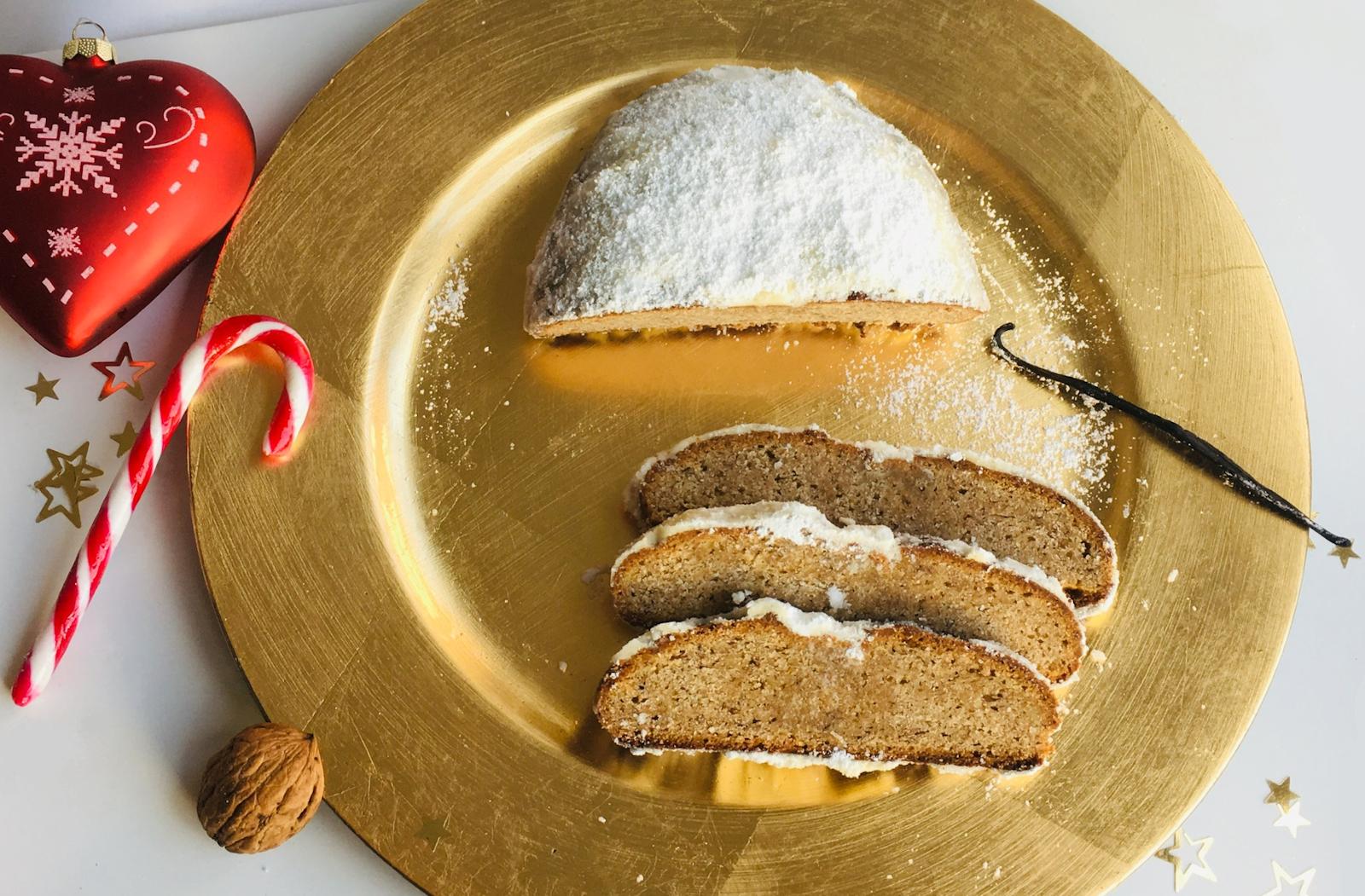 Christstollen Rezept – Weihnachtsstollen aus Vollkornmehl