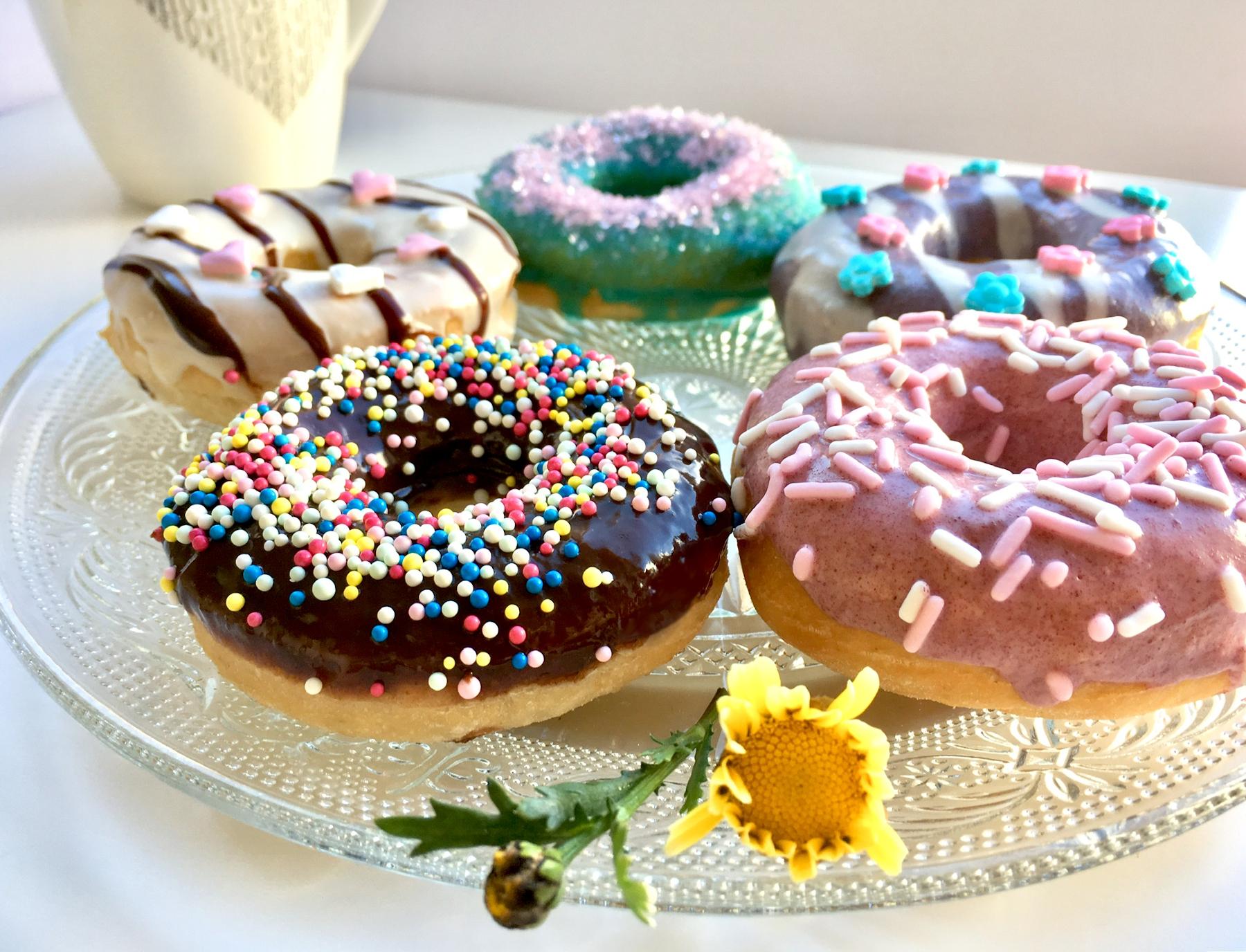 Doughnuts Nahaufnahme