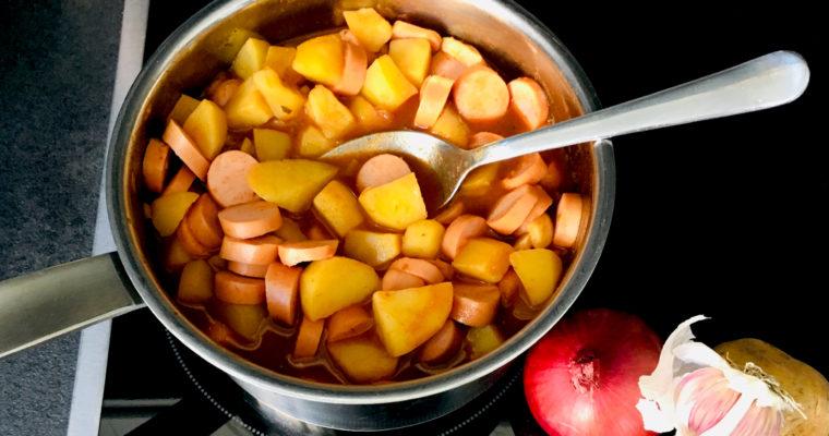 Aromatisches Kartoffelgulasch – ein günstiges Rezept