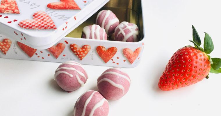 ♡ Pralinen Rezept – Süßigkeiten zum Valentinstag ♡