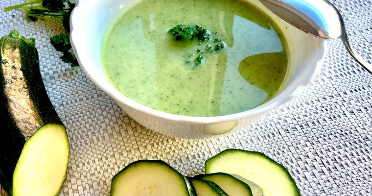 Zucchinicremesuppe – Rezept für die perfekte Cremesuppe