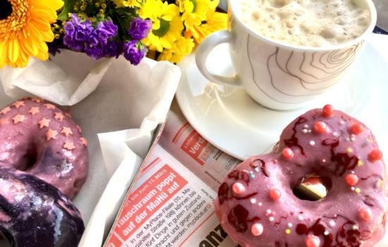 Donuts mit Vollkornmehl