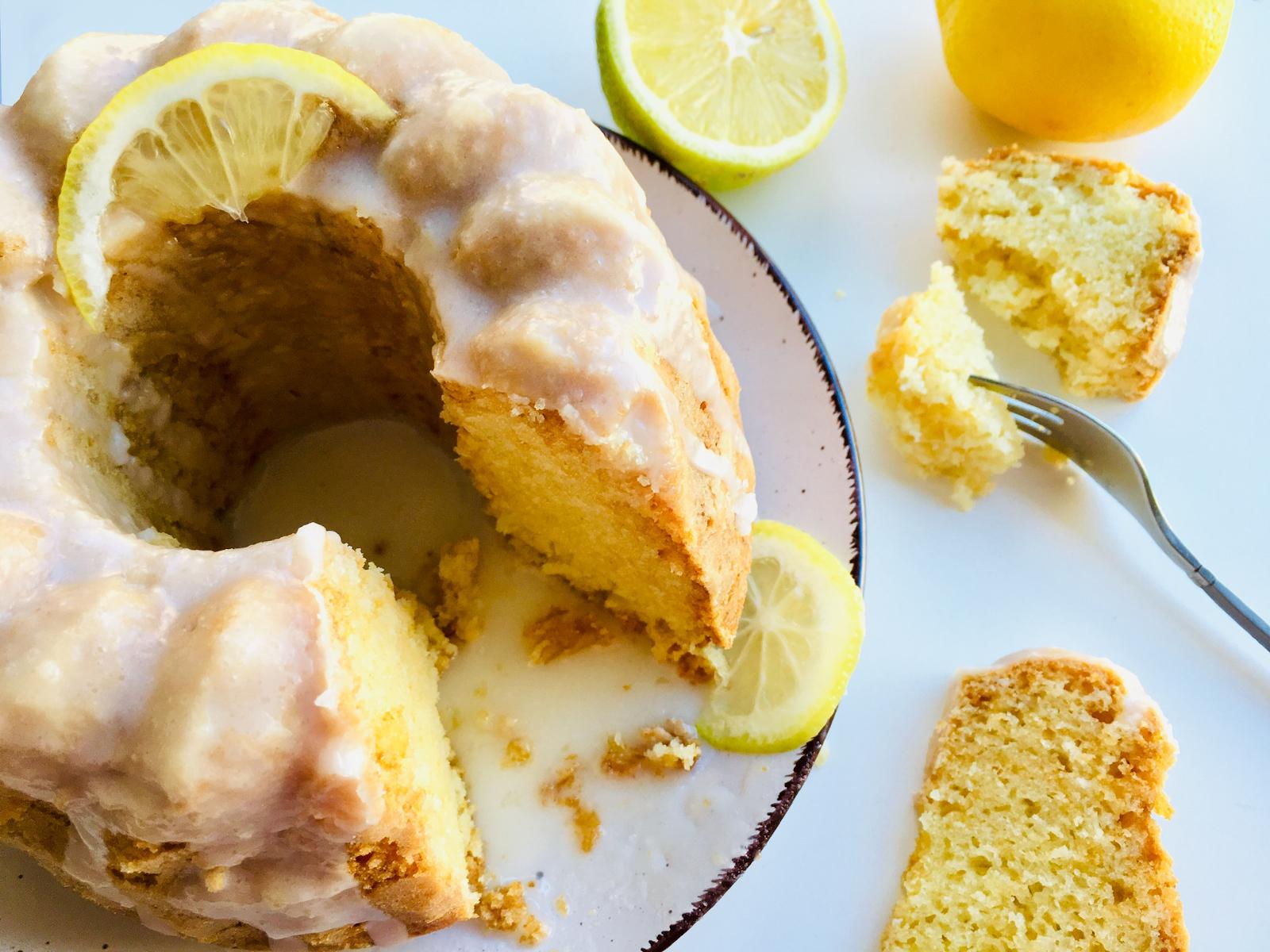 Zitronenkuchen ohne Ei – saftig und locker