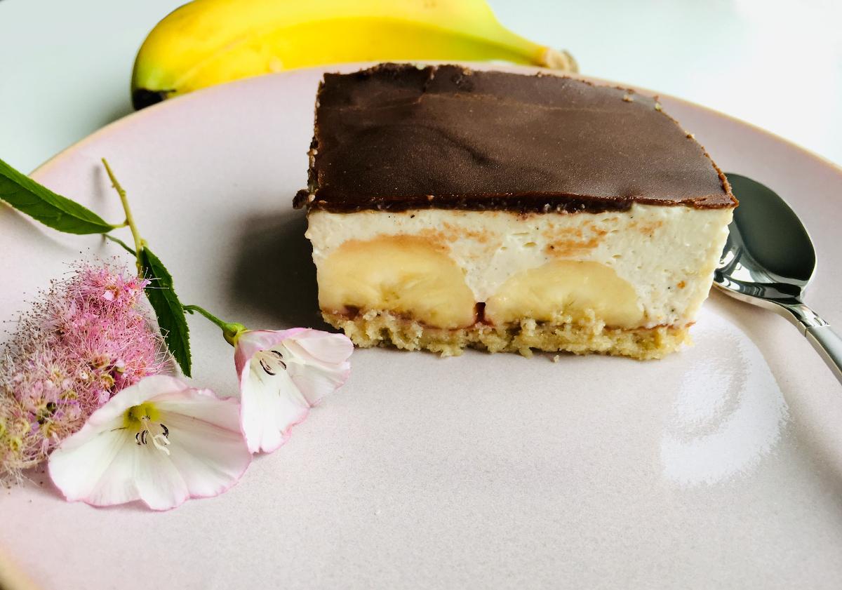 Bananenschnitte – einfach traumhaft ohne Puddingpulver