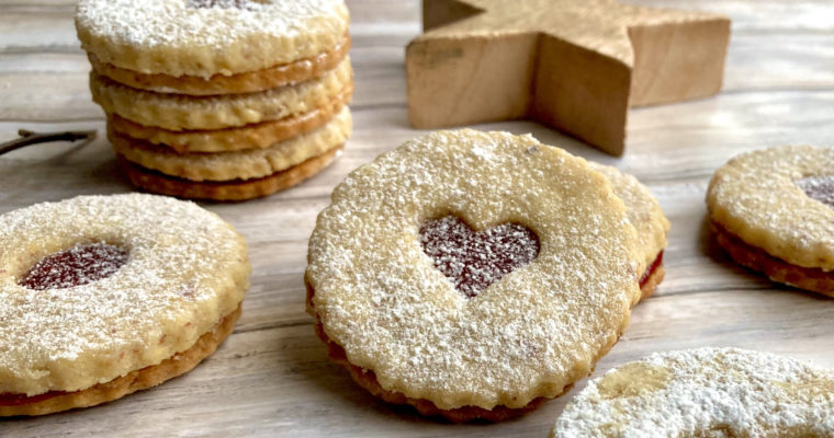 Linzeraugen – Rezept für butterzarte Linzer Kekse