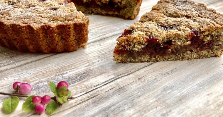 Linzer Torte Rezept – saftig, zart mürbe und mit Mohn