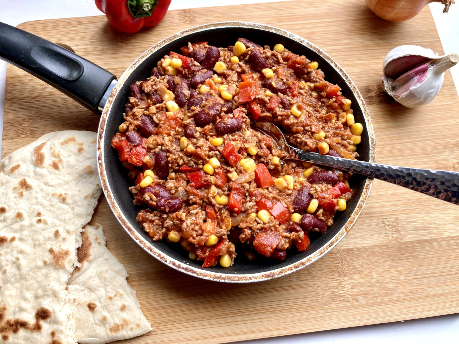 Chili con Carne nach Texas Art