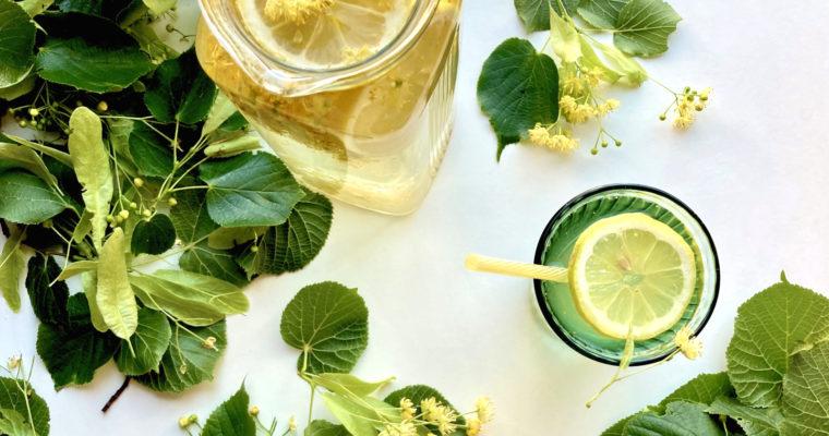 Sommerlicher Lindenblüten Tee – Lindenblüten Eistee