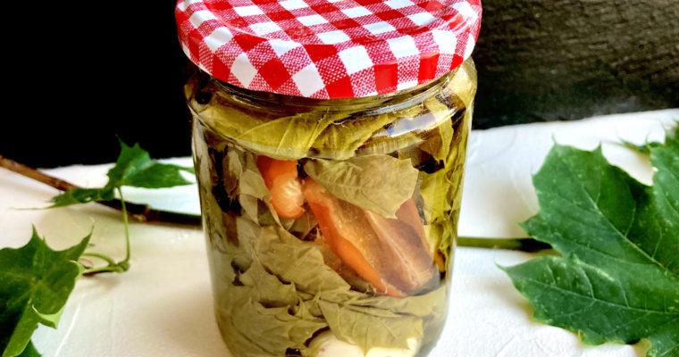 Sauerkraut aus Ahornblättern