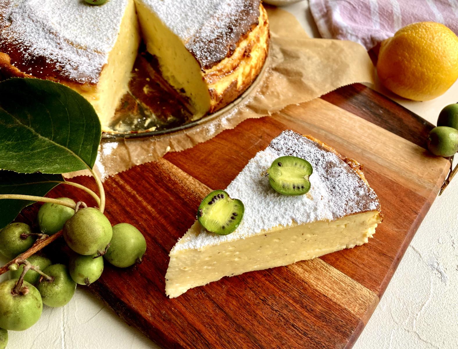 Glutenfreier Käsekuchen – supercremig & lecker